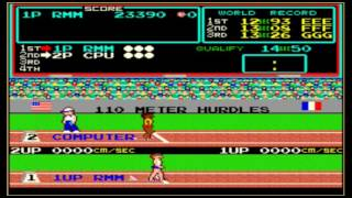 Track and field video game 1983 Video