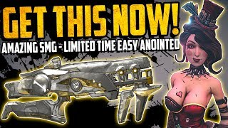 Borderlands 3: GET THIS WHILE YOU CAN - MOXXI SECRET ANOINTED SMG - The CRIT - Full Guide & Review