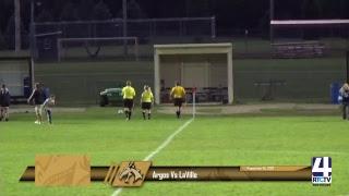 Argos Gilrs Soccer vs LaVille