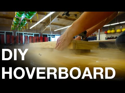 Dry Ice Hoverboard (D.I.Y. REAL Hoverboard)