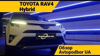 Toyota RAV4 Hybrid. Обзор. Экономим топливо на полноприводном кроссовере. Avtopodbor UA