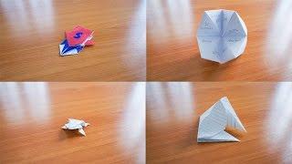 สอน 4 วิธีพับกระดาษของเล่น ย้อนวัยเด็ก