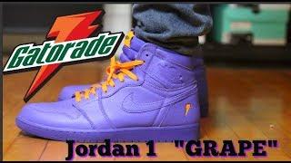 finest selection 43e3d d2ca7 gatorade air jordan 1 purple - Free video search site ...