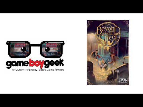 The Game Boy Geek Reviews Beyond Baker Street