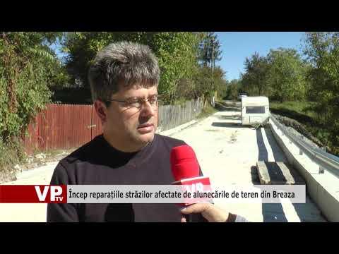 Încep reparațiile străzilor afectate de alunecările de teren din Breaza