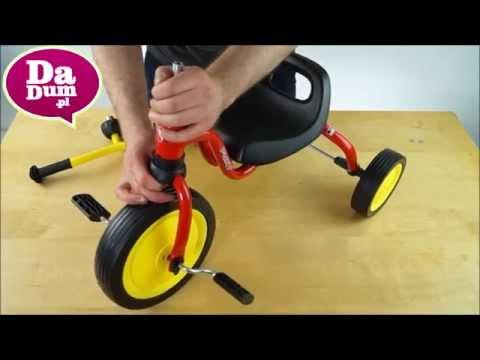 Rowerek trójkołowy Puky Fitsch : montaż