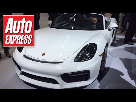 370bhp Porsche Boxster Spyder storms into New York - Vlog