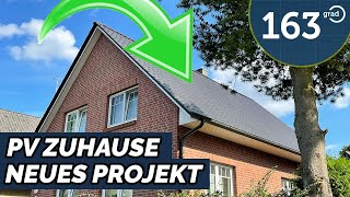 PV Anlage für unser Haus - Autark mit Solar + Elektroauto - zu Besuch bei Holger Laudeley - 163 Grad