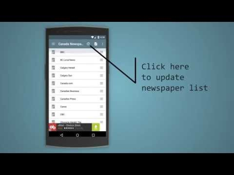 Video of Canada Newspapers