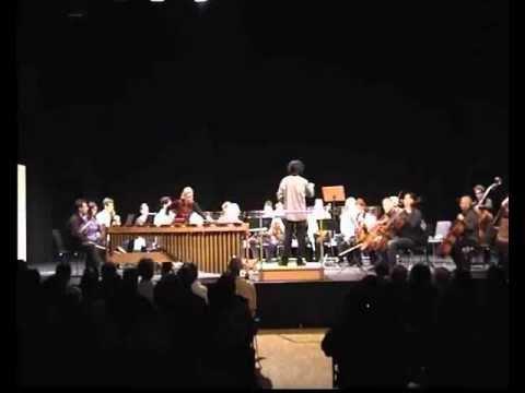 Emmanuel Séjourné – Konzert für Marimba und Streichorchester 1. & 2. Satz