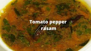 Tomato pepper rasam టమాటో మిరియాల చారు అదిరిపోయే రుచితో చెయ్యాలంటే ఇలా పొడి వేసి చూడండి