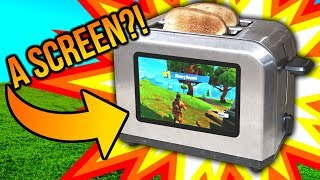 Fortnite And Toast?? Fortnite On A Toaster