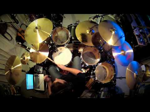 "Dennis Leeflang - ""Ricochet"" (Truth Table) drum performance"