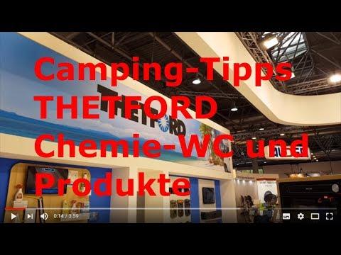 Camping Info Tipps - THETFORD Camping Toiletten, Chemie und Reinigung - Caravan Salon Düsseldorf