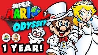 1 Year Anniversary! 39 Pixels - Super Mario Odyssey - Gameplay Walkthrough Part 48 (Nintendo Switch)