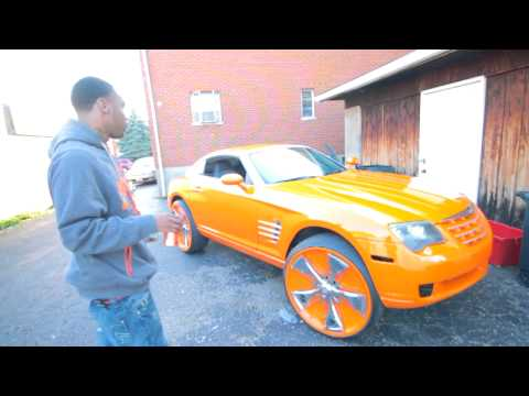 Black-Jackk (SHOWS OFF HIS NEW 2006 CHRYSLER CROSSFIRE ON 24'S DAVINS)