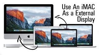 Use an iMac as an External Monitor