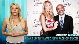 Blake Lively - New Face Of Gucci Perfume