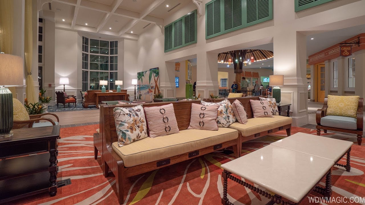 Walk-through of the new Old Port Royale at Disney's Caribbean Beach Resort