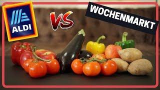 ZERO WASTE: ALDI vs. Wochenmarkt - der Preisvergleich