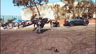 360° Max on Fpv Drone vs Stunt Bike