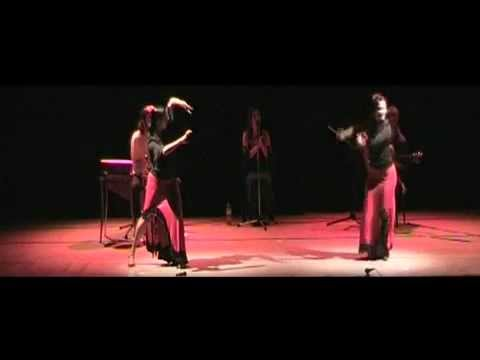 Trio flamenco de Cante, toque y cajon