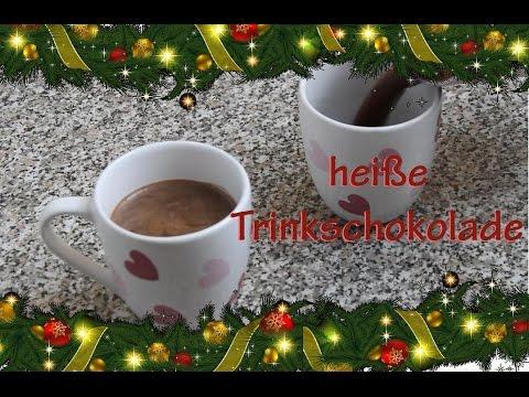 Heiße Schokolade selber machen - super schokoladig & lecker - Trinkschokolade Rezept