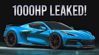 EPIC NEWS   Corvette C8 ZO6, ZR1 & ZORA Leaked Specs!