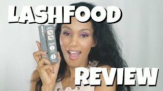 My Lashfood Review!
