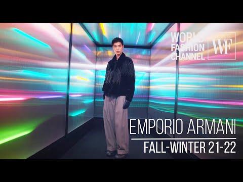 Emporio Armani fall-winter 21-22 | Milan fashion week