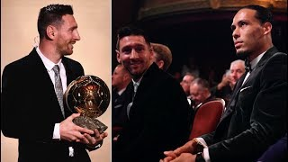 How the world reacted to Lionel Messi's SIXTH Ballon d'Or win