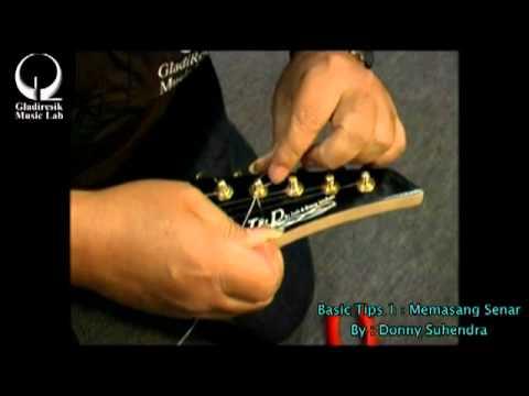 Basic Tips1 (memasang senar dengan simpul) donny suhendra