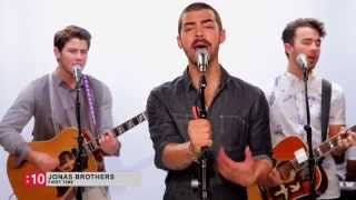 Jonas Brothers - First Time acoustic version VH1 Stopwatch