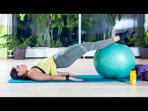 Esercizio posteriore con osteocondrosi