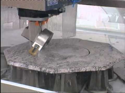 Qualey Granite - CNC Machine - Video 2