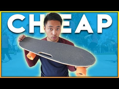 BEST CHEAP ELECTRIC SKATEBOARD FOR TRICKS! (Boosted Mini?!)