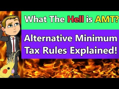 Alternative Minimum Tax simplified. Explained with example  CPA Exam REG. Income Tax Course
