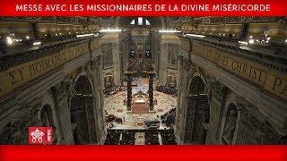 Pape François - Messe avec les Missionnaires de la Divine Miséricorde 2018-04-10