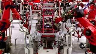 Comment est fabriqué la Tesla Model S?