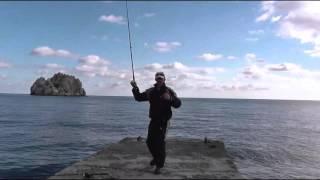 Гурзуф рыбалка с берега