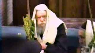 Two Minute Footage of Hoshana Rabba 5752