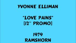 Yvonne Elliman - Love Pains  [12''] - 1979