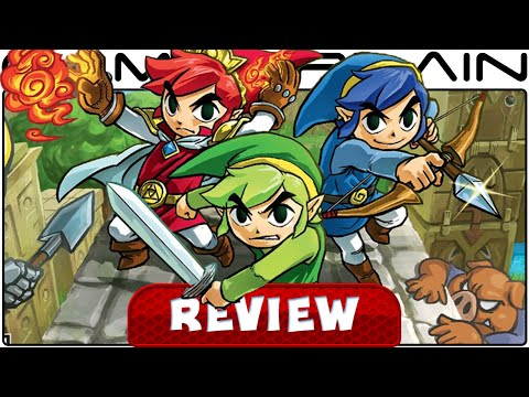 The Legend of Zelda: Tri Force Heroes - Video Review - YouTube video thumbnail