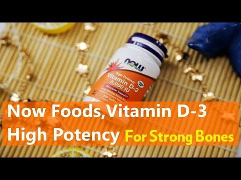 Now Foods, Vitamin D 3 High Potency