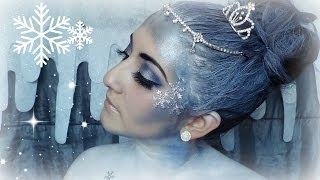 Christmas | Snow Queen Makeup Tutorial