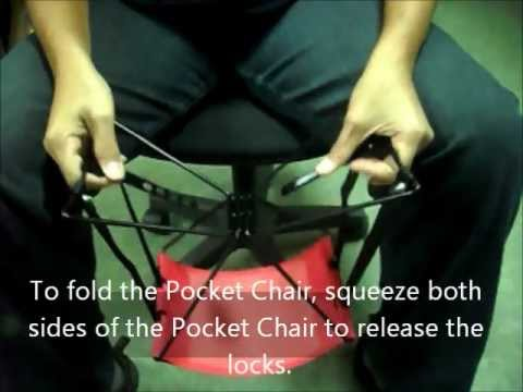 Pocket Chair - Take Your Seat Everywhere