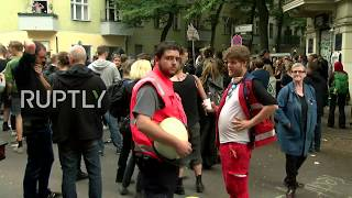 LIVE: Protests in Berlin as police evict squatters