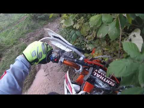 Ścieżka Enduro & Motocross MSC Odenheim - KTM 250 excf Sixdays Francja - Honda CRF 250X - Vol.1