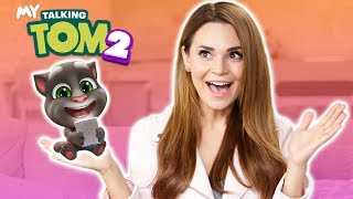I GOT A KITTEN! (Lets Play MY TALKING TOM 2)