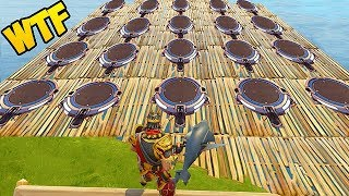 MOST LAUNCH PADS IN 1 SPOT! - Fortnite Funny Fails and WTF Moments! #122 (Daily Moments)